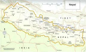 Himilayas Map 8 Days Kathmandu Bhaktapur Pokhara U2013 Himalaya Journey