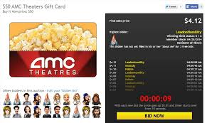 where to buy amc gift cards how to score entertainment for less with these gift card auctions