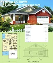 little house building plans plan 42230wm one story or two cottage house rocking chairs and