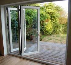 Patio Doors Folding Dual Sliding Patio Doors And Doors Bi Folding Patio Doors