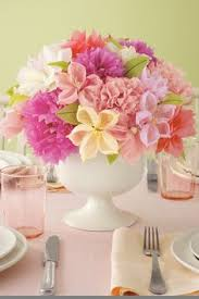 paper flower centerpiece ideas they dont have to be paper a few