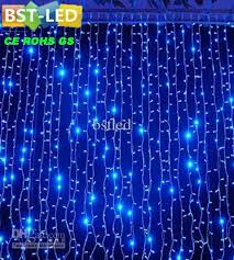 small led lights for decoration 720 led curtain light string decoration holiday with decorative