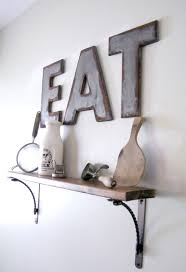 industrial style galvanized u0026 rusted letters my own home