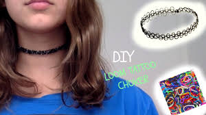 make tattoo necklace images Diy loom tattoo choker jpg
