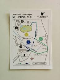 Map Your Running Route by Activities Park Or Lake With Jogging And Outdoor Gym In Kuala