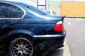 la 01 06 painted bmw e46 sedan 4d csl type ducktail trunk boot
