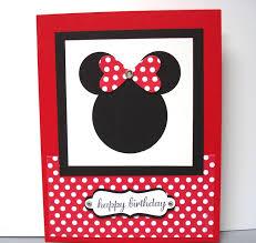 minnie mouse birthday card 176 best card makingmickey minnie