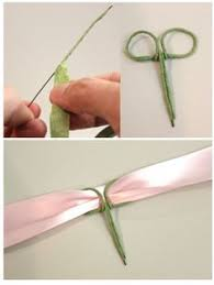 how to make wrist corsage how to wire the back of a wrist corsage so you can attach any