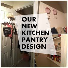 our kitchen pantry design family home project