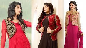 design of jacket suit punjabi salwar kameez with short jacket 2018 designs images latest