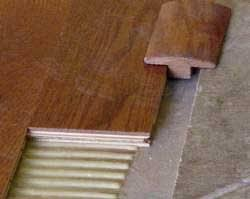 Hardwood Floor Molding Installing Hardwood Floor Moldings