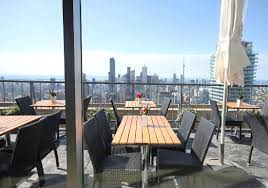 Patio Downtown Rooftop Patio Overlooking Cn Tower Downtown Toronto Picture Of