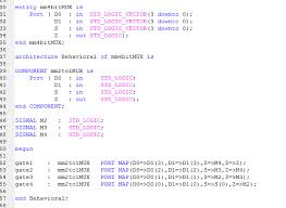 Test Benches In Vhdl Help With 4 Bit 2 To 1 Mux Embdev Net