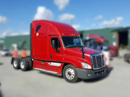 freightliner used trucks 2012 freightliner cascadia tandem axle sleeper for lease 1246