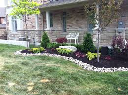 exterior front yard slope landscaping ideas backyard landscape