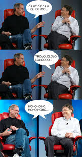 Bill Gates Memes - image 50550 steve jobs vs bill gates know your meme