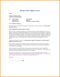 3 sample letter of appeal for reconsideration model resumed