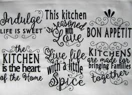 Machine Embroidery Designs For Kitchen Towels Kitchen Lovely Quotes Machine Embroidery Designs 4x4 And
