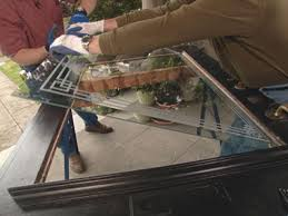 replace glass in window how to replace a glass insert in a door how tos diy