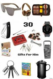 ideas for him 30 gift ideas for him