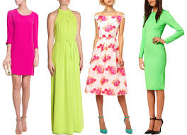wedding guest dresses for summer trend neon wedding guest fashion onefabday