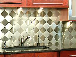 4 stainless steel kitchen backsplashes hgtv