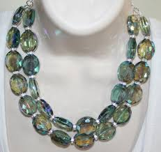 crystal necklace statement images Chunky bold ab crystal statement necklace by 123gemstones on zibbet jpg