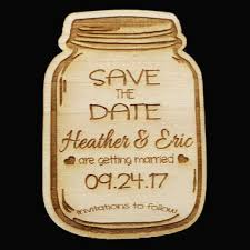 Rustic Save The Date Cards Shop Mason Jar Wedding Invitations On Wanelo