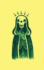 illustration death skull sketch artists on akeussel akeussel u2022