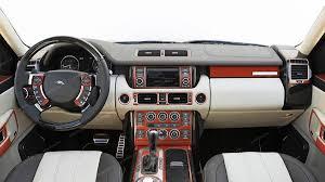 matte orange range rover land rover range rover sport 2006 2009 basic interior dash kit