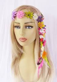 hippie flower headbands hippy flower headbands hippie flowers flower headbands and flower