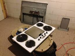 Electric Cooktop With Downdraft Ventilation Convert Your Range To Gas Man For All Reasons