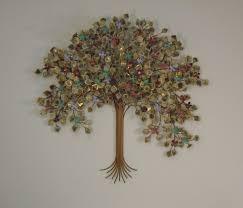 Tree Of Life Home Decor Enchanting Wall Design Custom Made Oval Tree Tree Of Life Metal