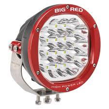12 volt red led lights big red 180mm 90 watt hi power led driving light home of 12 volt