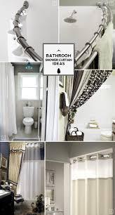 Bathroom Shower Curtain Decorating Ideas Unique Shower Curtains Ideas Stupendous Bath Curtain Bathroom Cool