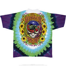 Tie Dye Halloween Shirts by Grateful Dead Terrapin Station Tie Dye T Shirt Tee Liquid Blue