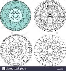 circular ornamental design vector stock vector