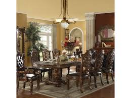acme dining room furniture acme furniture vendome traditional dining table and chair set