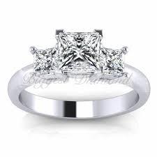 princess cut 3 engagement rings surprising 3 princess cut engagement rings 70 for home
