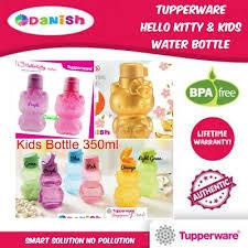 qoo10 tupperware kitty kids eco fliptop water bottle 425ml