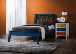 Blue Twin Bed by Ac 25380 Jpg