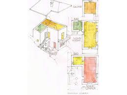 cascina lovera ground plot of the holiday house
