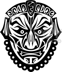 african mask free coloring pages on art coloring pages