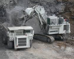 mining excavators liebherr