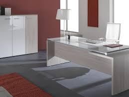 Home Office Desk Contemporary by Cherry Finish Modern Glass Top Home Office Desk Woptions In