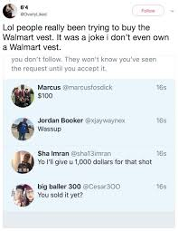 Wearing A Bra To Bed Internet Goes Crazy After Guy Offers To Sell Walmart Vest Thechive