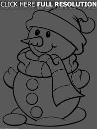 printable snowman coloring pages me christmas pages