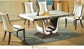 room furniture dinning table set with chair marble table