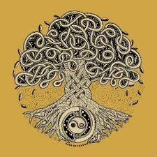men u0027s tree of life crew neck t shirt100 cotton old gold celtic