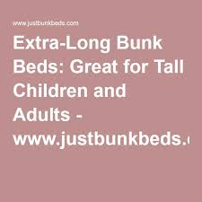 Best Extra Long Bunk Beds Images On Pinterest Queen Bunk Beds - Extra long bunk bed